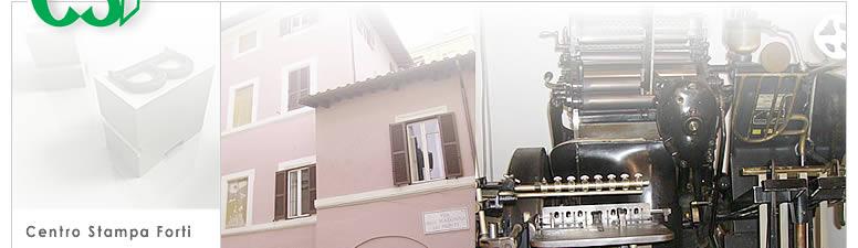 tipografia Centro Stampa Forti
